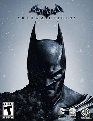 Batman: Arkham Origins cover